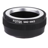 Anillo adaptador de montaje de lentes para M42 lentes Micro 4/3 montaje de cámara Olympus Panasonic DSLR
