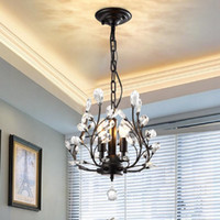 3- Light Crystal Chandeliers Ceiling Lights Crystal Pendant L...
