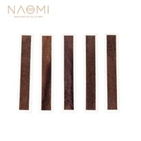 NAOMI 5 PCS 클래식 기타 브릿지 타이 블록 인레이 타이 블록 PVC 인레이 메이플 PVC 프레임 시리즈 기타 부품 NA-31