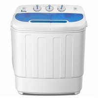 Portable Washing Machine with Twin Tub Electric Compact Mini...