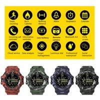 EX16 Plus-Smart Watch Sports wasserdichte Aktivitäten Tracker Armband Bluetooth Pedometer relogio inteligente Armbanduhr für Android iPhone