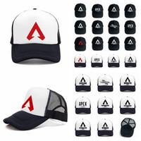 Apex Legends Game Cap 24styles Malha de Verão Boné de Beisebol Ao Ar Livre Hip Hop Hap Popular Sun Hat Homem Mulheres AAA1932