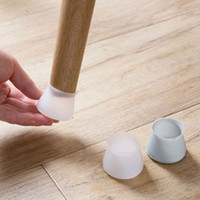 1000шт мебель Силиконовая защитная крышка силиконовый протектор пола круглая мебель стол ножки крышка мебельные аксессуары ножки стула крышки