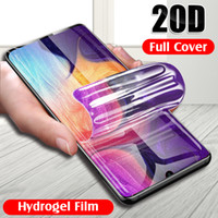 20D Hydrogel Film For Samsung Galaxy S8 S9 s10 Plus Screen Protector For A50 A30 A20 A70 A80 A90 Soft Film Not Glass
