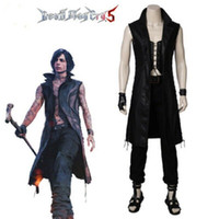 Jogo Devil May Cry 5 Cosplay V Vitale Cosplay completa Costumes Set Halloween