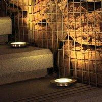 4PCS 태양 지상 조명 3LED 잔디 정원 방수 야외 정원 조 경 조명 장식 램프