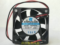 جديد مروحة التبريد XINRUILIAN RDH6020S 12V 0.25A 2 سلك 2 سم