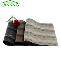 JK Home 4 Pcs Lot Heat- insulated Table Mat Fast- Dry PVC Pad ...