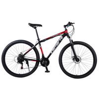 Vélos 29 pouces Vélo de montagne Alliage d'aluminium Vélo 21/24/27 Vitesse Student Adulte Lumière