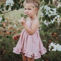 INS été filles princesse robes enfants double falbala ourlet vacances robe enfants épaule froide robe princesse enfant robe d'été Y2100