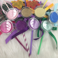 Empty Lollipop Eyelashes Box Can Hold Regular Mink Eyelash 25mm Lashes Custom Private Label Accept FDshine