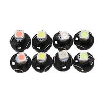 100 stücke T3 1210 SMD 3528 12 V Instrument Dash Lampe NEO Auto Led-lampe Armaturenbrett Cluster Lesen Licht Weiß / Gelb / Grün / Blau / Rot / Rosa