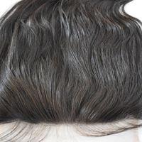 الماليزي العذراء الشعر HD 13x4 الرباط أمامي مع شعر الطفل ريمي الشعر HD الدانتيل لون الجسم موجة أعلى إغلاق