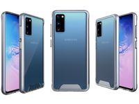 Prêmio robusto claro à prova de choque de telefone celular capa para Samsung Galaxy S20 Ultra S20 Além disso S8 S9 S10 Nota 10 A51 A71 A40 Space Case