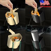 Mini Viagens Lixo Car Auto portátil Lixo Veículo Caso Poeira Titular Box Bin maca pode saco de Resíduos