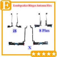 Neue lautsprecher antenne flex kabel für iphone 7 8 plus x lautsprecher summer ringer stecker band teile