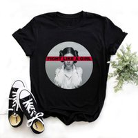 Femminists harajuku t shirt donna femminismo GLL PWR Ullzang t-shirt girl power 90s grafico tshirt grunge estetico top tees femmina
