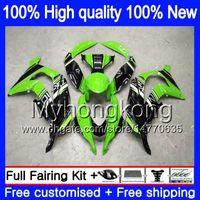 Injektion OEM för Kawasaki ZX-10R 1000CC 2016 2017 2018 Grön Bra 335MY.26 ZX1000 ZX 10 R ZX 1000 ZX 10R ZX10R 16 17 18 100% FIT FAIRING
