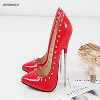 New pattern Superior quality Pointed Toe Shoes Woman 16cm Me...