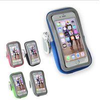 Universal impermeável Mobile Phone Caso Armband esporte para iPhone Correndo Telefone Arm Banda Brassard Telefone Titular Arm Bag Bolsa para iphone