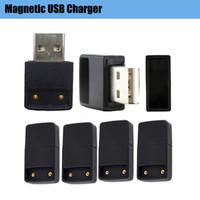 Magenetic Anschluss E-Zigarette USB-Ladegerät 5V bewegliche drahtlose Ladegeräte Fit Raucher Vape Pen Pods Kit Ecigs Zubehör Flachbatterien