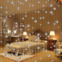 5 String Mode Cristal Verre Perle Curtain Intérieur à la maison Décoration de Mariage de luxe Decoration Fournitures Fournitures Fenêtre Rideau
