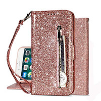 Bling Wallet Case for iPhone 6 6S 7 8 Plus X XR XS MAX Samsu...