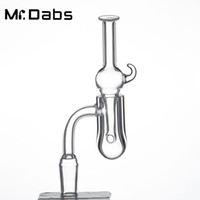 Runder Boden-Banger-Nagel Orion Quartz Banger mit Klarglas-Vergaserdeckel Für Glaspfeifen Wasserpfeifen Dab Rigs