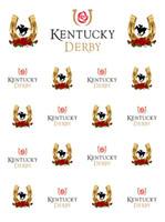 Kentucky Derby vinilo fotografía telones de fondo oro herradura rosa roja flores paso y repetir Photo Booth fondos para fiesta estudio Accesorios