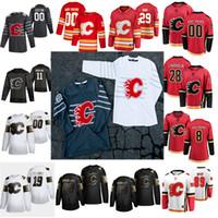 Calgary Flames Hockey Jerseys Golden Edition Womens 56 Erik Gustafsson Derek Forbort Johnny Gaudreau Mikael Backlund 5 Mark Giordano Custom