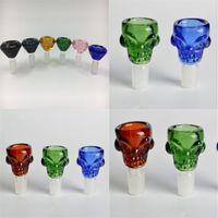 Crâne Glass Bol Tuyaux Coloré Shisha Hookah Book Shishas Raffiné de Shishas Cute Fumeurs Accessoires d'usure Résistance à l'usure 6hy E2