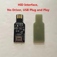 USB 2.0 Dongle Pour déverrouiller la carte SIM mise à jour firmware pour Chinasnow Heicardsim HID Interface sans pilote.