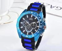 2019 Классический стиль Высокое качество швейцарский бренд INVICTA спорта на открытом воздухе Полный календарь ударопрочные Мужские часы Силиконовые кварцевые часы