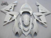 Gratis Anpassad ABS Plastfeedningar Passform för Kawasaki ZX10R 04 05 Motorcykel Road Race Bodywork Fairings Set ZX 10R 2004 2005