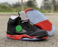 Good Quality 5 Satin Bred Mens Designer Basketball Shoes New...