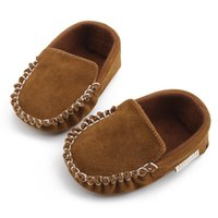 Baby Girls Baby Boys Beanie Shoes Spring Autumn Infant Prewa...