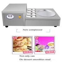 Preis Zugeständnisse hohe Umsatzvolumen frittiertes Eis Roll-Maschine / gebratene Joghurt-Maschine / kleine Mini-Maschine