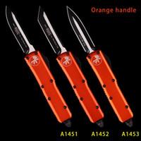 3 INCH UTX 85 MT Couteau Automatique COUTEAUX MICOR COUTEAU TECH DOUBLE tactique d'action COUTEAU BLANC DE REVÊTEMENT COUTEAUX couteaux pliants poche COUTEAU