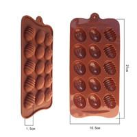 L'alta qualità Nuove Gusci d'uovo verniciato modellato la muffa del cioccolato del silicone di grado per la cucina torta di cottura Strumenti Protezione Ambientale