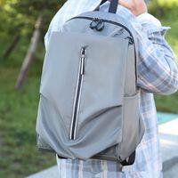 2019 водонепроницаемый мода пара повседневная сумка тенденция личности рюкзак, планшетный ПК, сумка для ноутбука USB открытый досуг школьные сумки