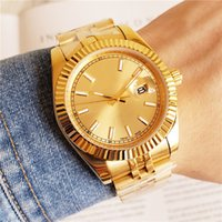 2019 New Top AAA Luxury Mens Watch All Gold Automatic Watch ...