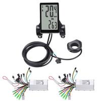 24V / 36V / 전기 자전거 스쿠터 액세서리 방수 LCD 디스플레이 패널과 48V 250W / 350W E-자전거 전기 자전거 컨트롤러