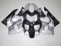 Carenados de alta calidad ZXMOTOR para Honda CBR900RR CBR 893 1995 1997 kit de carenado negro plateado CBR893 95 97 SD37