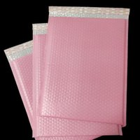 50Pcs 3 sizes Pink Plastic Bubble Bag Self Sealing Bubble En...