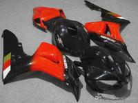 Injection molding Fairings for Honda CBR1000RR 2006 2007 black red fairing kit CBR 1000 RR 06 07 FG27