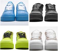 Con Box Fuerzas Venta caliente Offs Blue White Men Zapatos casuales Volt 2.0 Low Black and Green One Designer Shoes