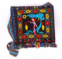 200pcs Chinese Hmong bag Embroidered Handbag Ethnic Style sh...