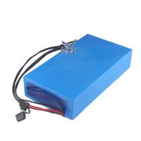 Frete grátis elétrico alimentado scooter bateria pacote 60 V 20AH para alta qualidade baterias de lítio embalar para 650 W-1500 W motor com carregador