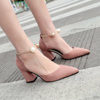 Designer Dress Shoes 2019 Women Side with Pointed Toe Pumps ...