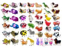 Noel Düğün Doğum Günü Partisi Kaynaklarının Pet Hayvan Helyum Alüminyum Folyo Balon Otomatik Sızdırmazlık Çocuklar Balon Oyuncak Hediye Walking